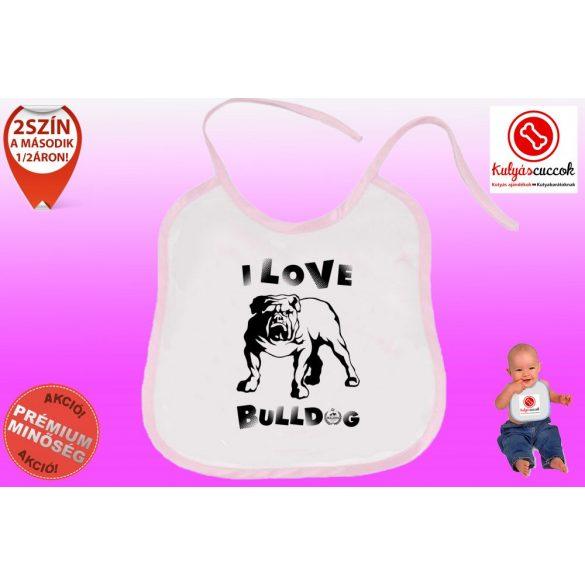 Előke - Bulldog Streetwear I Love Bulldog Angol