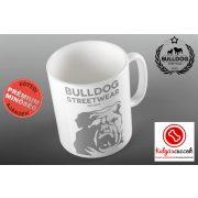 Bulldogos Bögre - Bulldog Streetwear Est.2014. szürke grafikával