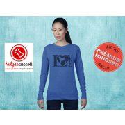 Mopszos Női pulóver - Mopsz Love Pugs mintával