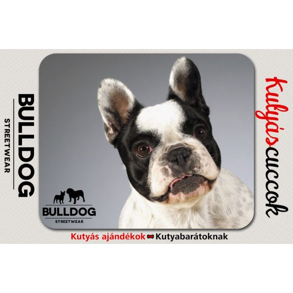 Bulldogos Egérpad - Bulldog Streetwear Francia Bulldog 1.