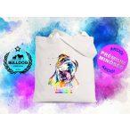 Bulldogos vászontáska BulldogArt Kollekció Angol Bulldog mintával