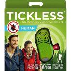 Vegyszermentes ultrahangos kullancs- és bolhariasztó emberi használatra, TICKLESS HUMAN - zöld