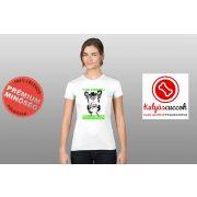 Bulldogos Női Póló - Bulldog Streetwear The French Connection Neon Green mintával