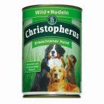 Christopherus - Premium - Felnőtt kutya - vadhús és tészta