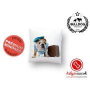 Párna Bulldog Bulldog Travel 35x35cm