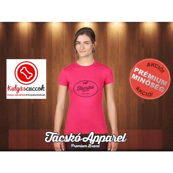 Tacskó Női Póló - Tacskó Apparel mintával minden méretben