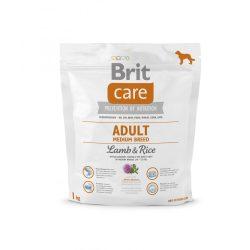 Brit Care Hypoallergenic Száraztáp Adult Medium Breed Lamb&Rice 1kg Bárányos Rizses Hypoallergén