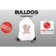 Tornazsák - Bulldog Streetwear Bulldog Forever rózsaszín mintával