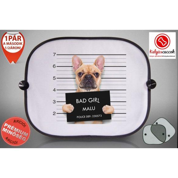 Autós Napellenző - Bulldog Bad Girl