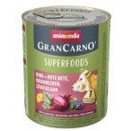 Animonda GranCarno Adult Superfoods Marha + cékla, szeder, pitypang 800g