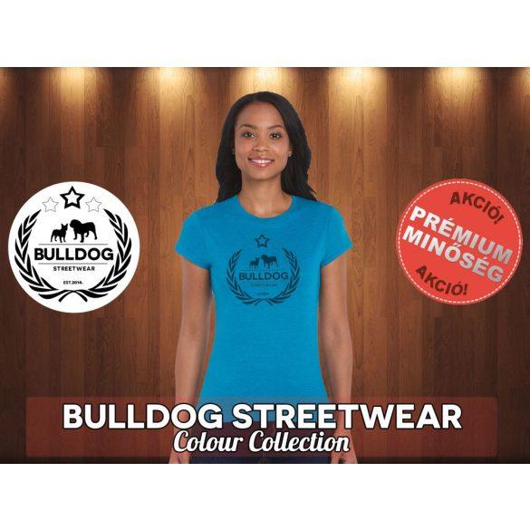 Bulldog Streetwear Női Póló - Koszorús logó logó mintával Különböző színekben