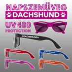 Napszemüveg - Dachshund Wayfarer Style Tacskós mintával UV400 védelemmel