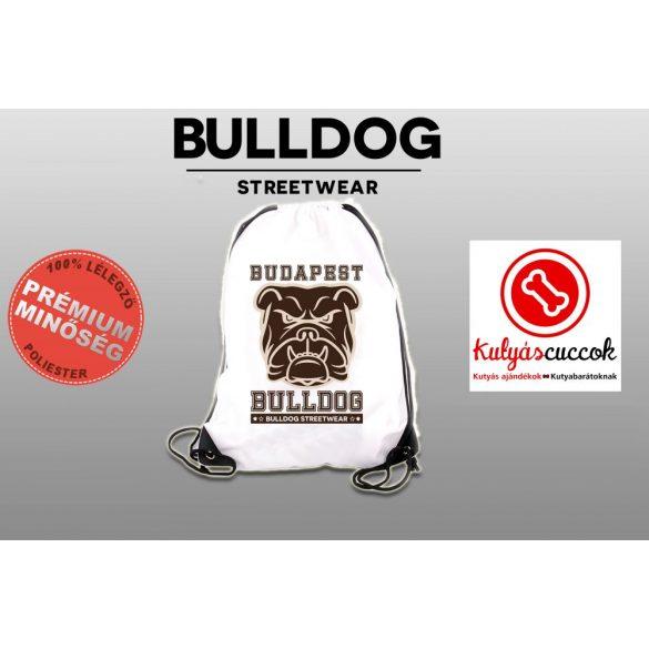 Tornazsák - Bulldog Streetwear Budapest Bulldog mintával