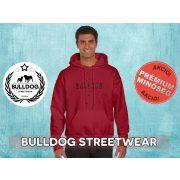 Bulldog Streetwear Férfi kapucnis pulóver - BSW Vintage bulldog logó mintával Több színben