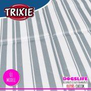 Trixie Stripy Hűsítő zselés matrac 65x50 cm-es Csíkos (hűsítő matrac/hűtőmatrac/hűtőtakaró/hűtőpléd)