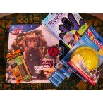 Dogs Life Karácsonyi Ajándékcsomag Kutyáknak 2. Adventi Naptár/K9 Cruiser - K9 Cirkáló/True Touch - Ötujjas Szőrápoló Kesztyű/Játékok