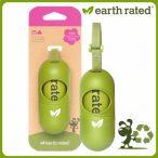 Környezetbarát, Lebomló  EARTH RATED kakizacsi tartó illatosított Kutyaürülék/Kutyapiszok/Kutyakakizacsival
