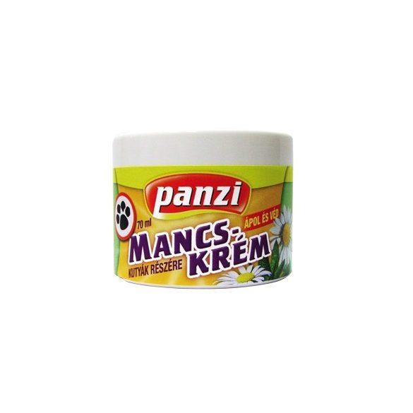 Panzi Kamillás Mancskrém Mancsápoló Krém kutyáknak 70ml - Ápol és véd! A talppárnák regenerálásáért, Kedvenced egészségéért!