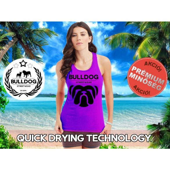 Bulldog Streetwear Női atléta - Big Bull  mintával