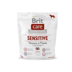 Brit Care Hypoallergenic Sensitiv 1kg Vadhúsos Száraztáp Gabona érzékenységre Venison&Potato