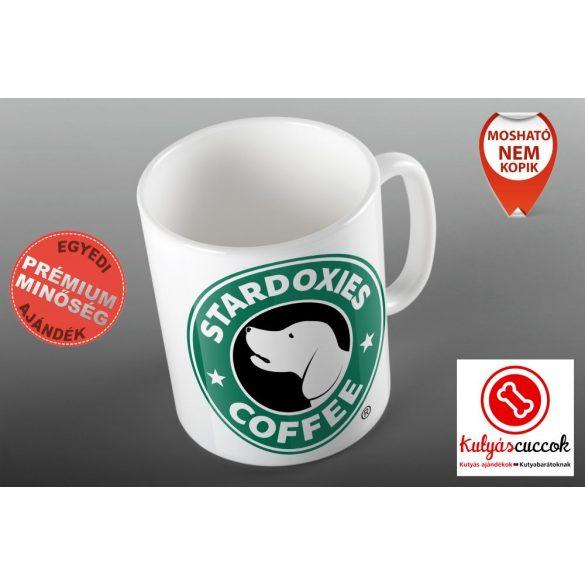 Tacskós Bögre - Tacsi Dachshund Stardoxies Coffee grafikával