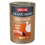 Animonda GranCarno Single Protein Pute Pur Pulyka 400g