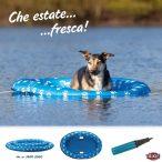 Trixie Hűsítő Felfújható Gumicsónak (Úszó nyári vízi hűsítés kutyáknak) M-L 130x90cm 30kg-ig