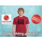 Dog Walking Férfi Póló - The Walking Dog mintával  Minden méretben és több színben