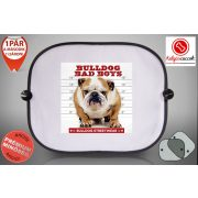 Autós Napellenző - Bulldog Streetwear Bad Boys Bulldog