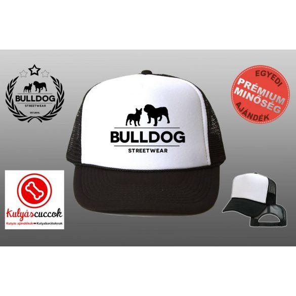 Trucker Sapka - Bulldog Streetwear Klasszikus Logo több színben