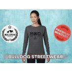 Bulldog Streetwear Női pulóver - BSW Peace, Love, Bulldog mintával Több színben