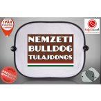 Autós Napellenző - Nemzeti Bulldog Tulajdonos