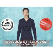 Bulldog Streetwear Női kapucnis pulóver - BSW Koszorús logó mintával Több színben