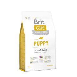 Brit Care Hypoallergenic Száraztáp Puppy All Breed Lamb&Rice 3kg Bárányos Rizses Hypoallergén