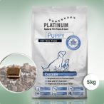 Platinum Natural Puppy Chicken  5 kg Prémium Száraztáp 70% Hústartalommal