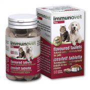Immunovet Tabletta 60db - Immunerősítő, Gyulladáscsökkentő, Antioxidáns, Immunstimuláns, Egészségmegőrző készítmény