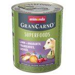 Animonda GranCarno Adult Superfoods Bárány + amaránt, áfonya, lazacolaj 800g