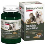Immunovet Granulátum 150 Gr. - Immunerősítő, Gyulladáscsökkentő, Antioxidáns, Immunstimuláns, Egészségmegőrző készítmény