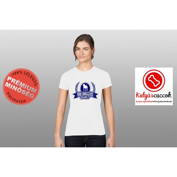 Bulldogos Női Póló - Bulldoggers United bulldog mintával
