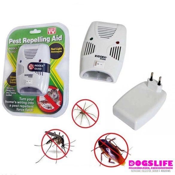 Pest Repelling Aid - Elektromos Szúnyog-, Rágcsáló- és Rovarriasztó