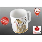 Bulldogos Bögre - Bulldog Streetwear Bulldog Forever barna grafikával