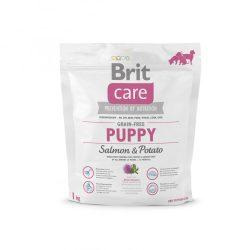 Brit Care Hypoallergenic Puppy Large Breed 1kg Gabonamentes Száraztáp Grain Free Salmon&Potato
