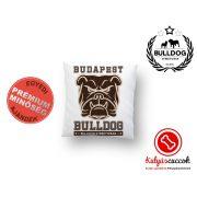 Párna Bulldog Streetwear - Budapest Bulldog 35x35 cm