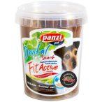 FitActive füstölt sonkás és vörösáfonyás dentastix rudak kutyáknak - 350 grammos vödör