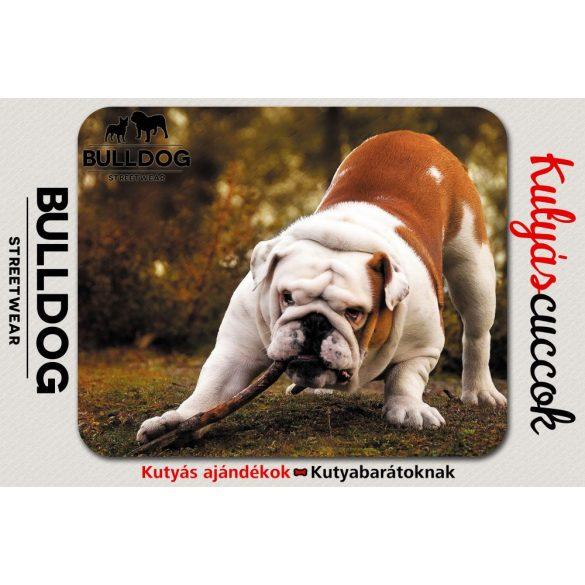 Bulldogos Egérpad - Bulldog Streetwear Angol Bulldog 4.