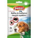 PanziPet Kullancs- és Bolhariasztó nyakörv kis- és nagytestű kutyák részére Barna 75 cm 304229