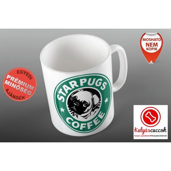 Mopszos Bögre - Starpugs Cafe 2 grafikával