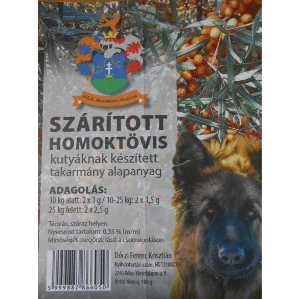 Szárított Homoktövis Por 100gramm - 100% Egészség B.A.R.F. Kiegészítő Kutyáknak