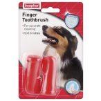 Beaphar Ujjra húzható fogkefe kutyáknak