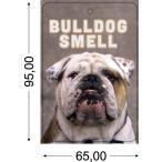 Bulldogos Autóillatosító - Bulldog Smell  95x65mm Kutyás Autóillatosító Több illattal RAKTÁRRÓL!